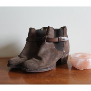 Rag & Bone Leather Ankle Booties